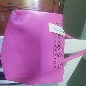Pink Merona Beach Tote Bag, PM-120